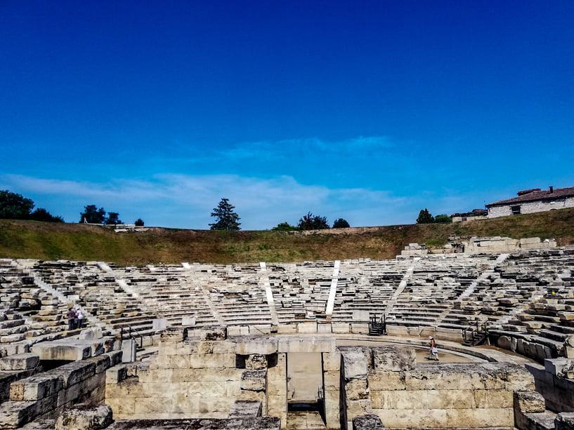 ΤοΠρώτο Αρχαίο Θέατρο της Λάρισας