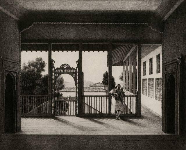 Σπίτι στον Τύρναβο, αρχές του 1820
