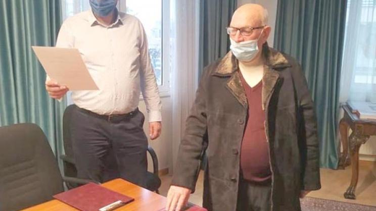 Ο Θεόδωρος Λάππας ορκίστηκε δημοτικός σύμβουλος Τυρνάβου