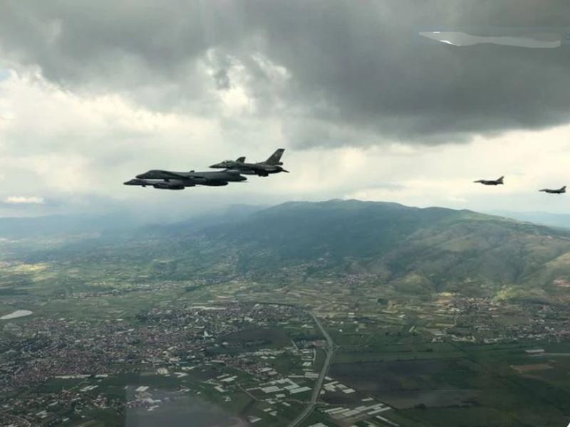 """Το τέταρτο F-16 (""""603"""") στην ΕΑΒ από προχθές"""