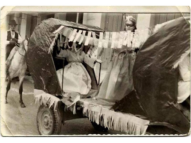 Μια φωτογραφία από το 1ο ανεπίσημο Καρναβάλι του Τυρνάβου το 1959