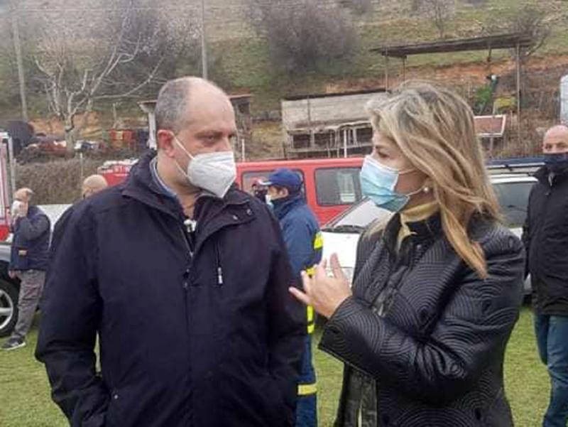 Στο Δαμάσι Τυρνάβου και σήμερα ο Χρήστος Καπετάνος, μαζί με την υφυπουργό Παιδείας Ζέττα Μακρή