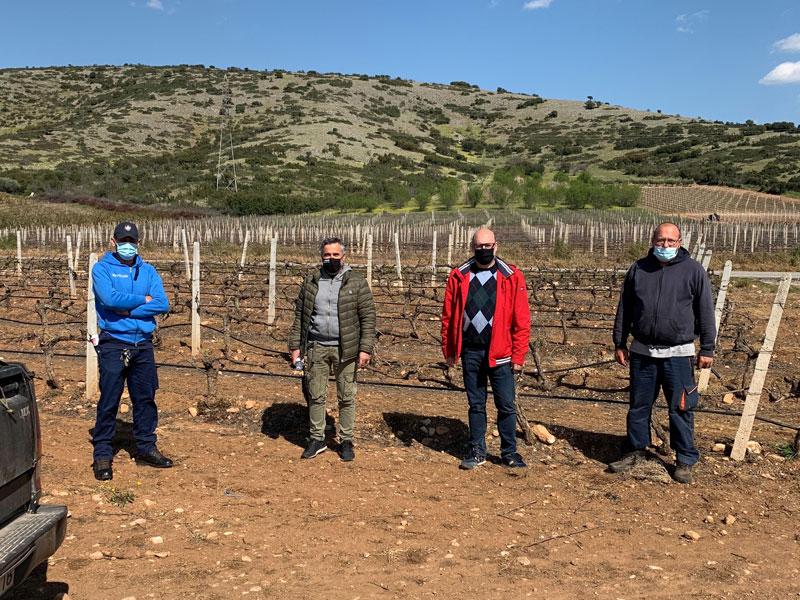 Επίσκεψη Σάμερ – Αθανάσιου Αμάρι σε παραγωγούς σε Δαμάσι και Αμπελώνα «Αποζημίωση των αγροτών στο 100%»