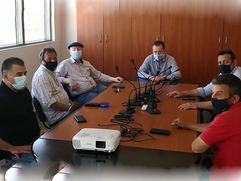 Κόκκαλης με διοίκηση ΑΣΕΠΟΠ Τυρνάβου: Να αποζημιωθούν άμεσα επιχειρήσεις από το σεισμό, να δοθούν κίνητρα στο υγιές συνεταιρίζεσθαι