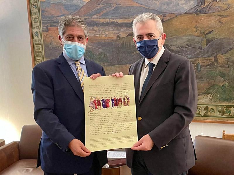 Μάξιμος Χαρακόπουλος: Κίνδυνος εξαφάνισης των Χριστιανών στους Αγίους Τόπους