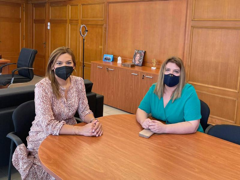 Στέλλα Μπίζιου – Συνάντηση με Μαρία Συρεγγέλα για το νέο εργασιακό νομοσχέδιο της κυβέρνησης. Η ανοχή μας στην εργασιακή βία είναι μηδενική.
