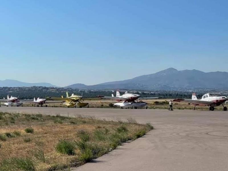 Έφτασαν στην Ελλάδα τα 6 Α/Φ AirTractor