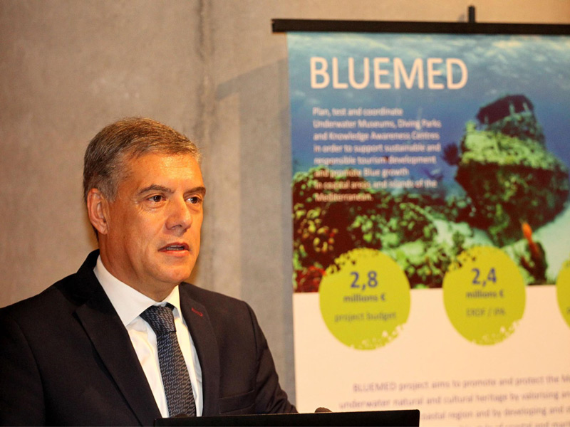 Οδηγός τεχνογνωσίας για Υποθαλάσσια Μουσεία στη Μεσόγειο η Περιφέρεια Θεσσαλίας με νέο πρόγραμμα BLUEMED PLUS