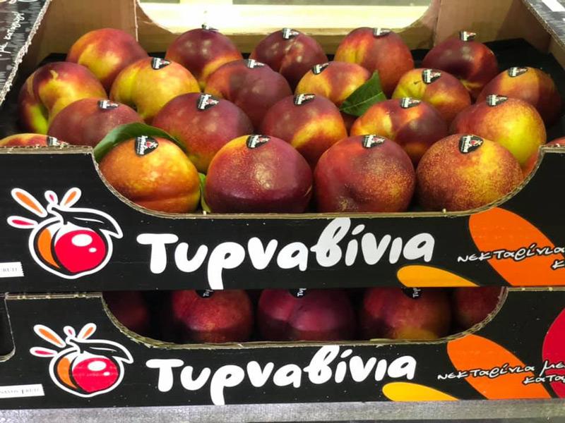 O Tirnavos Fruit Coop επενδύει στο επώνυμο νεκταρίνι και μπαίνει στα ράφια του Σκλαβενίτη