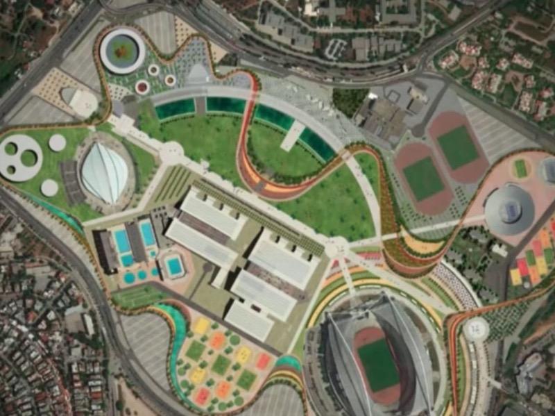 Το  ΟΑΚΑ μετατρέπεται σε Ολυμπιακό Πάρκο της Αθήνας