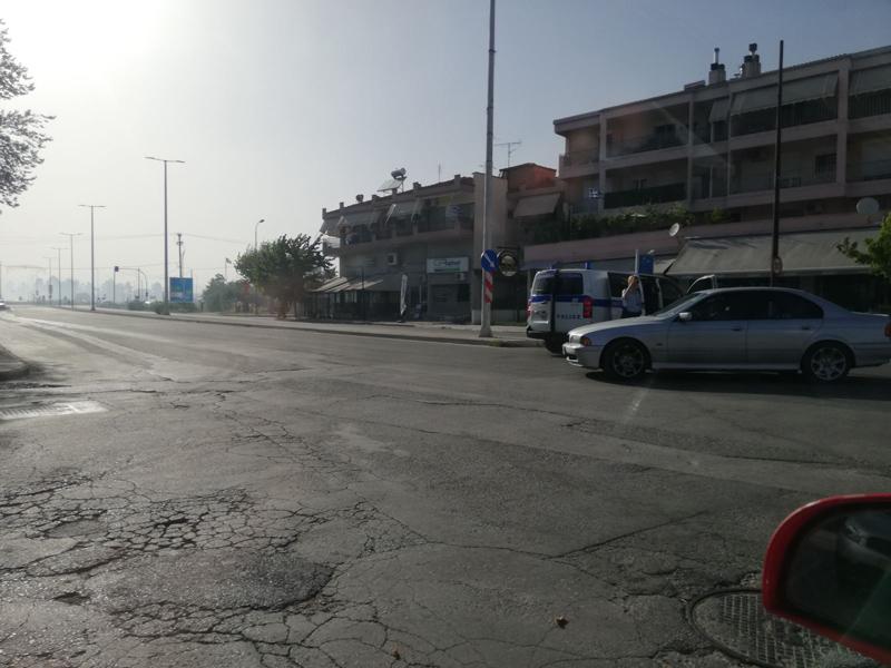Φωτιά στη Λάρισα  κοντά στην Εθνική Οδό Λαρίσης – Τρικάλων