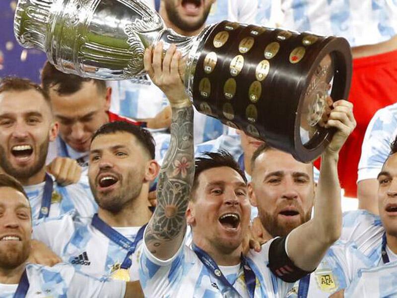 Δήλωση Μέσι για την κατάκτηση του Copa America: «Ο Θεός κρατούσε αυτή την στιγμή για μένα»