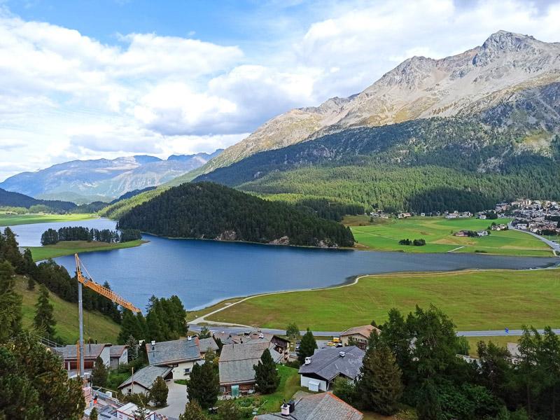 Απογοήτευση, μέρη της γενέτειράς μου στον Τύρναβο μου θύμισαν μερικές γωνιές της λίμνης στο Saint Moritz