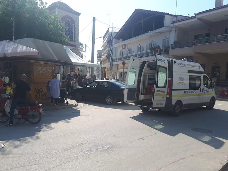 Έκτακτο: Γυναίκα έπεσε στα σκαλιά της εκκλησίας στον Άγιο Γεώργιο Τυρνάβου
