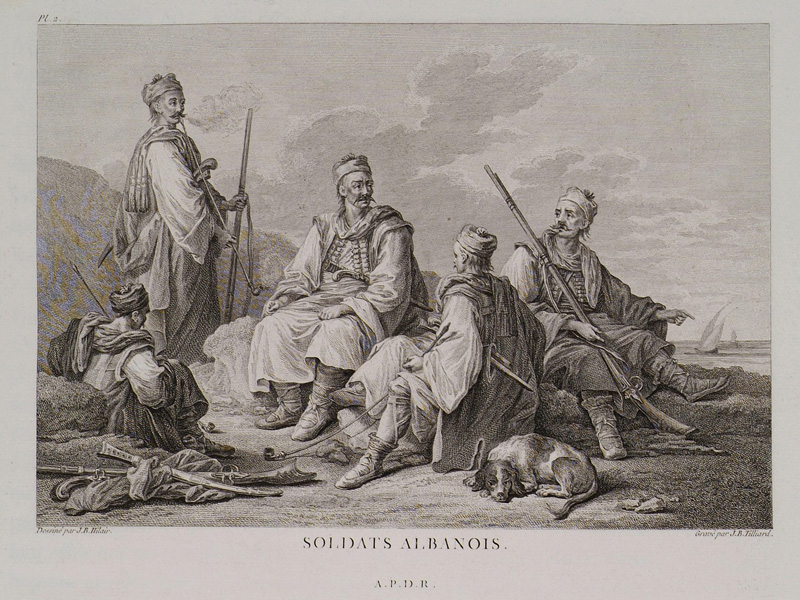 Ληστοσυμμορίτες Αλβανοί και στον Τύρναβο το 1790