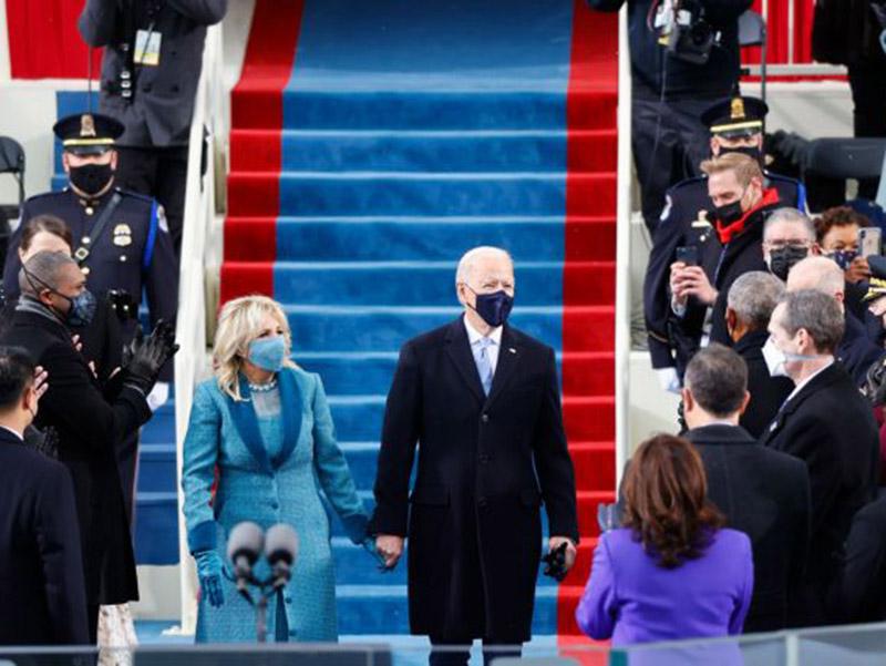 Και επίσημα 46ος Πρόεδρος ο Τζο Μπάιντεν που ορκίστηκε λίγο πριν τις 19.00 ώρα Ελλάδας