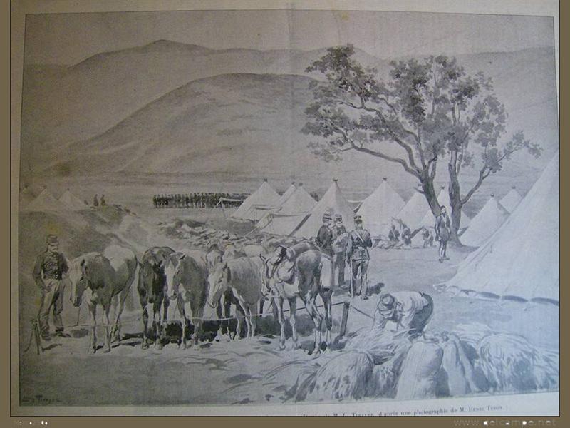 Λυγαριά Τυρνάβου Έλληνες στρατιώτες κατά τη διάρκεια του Ελληνοτουρκικού πολέμου του 1897