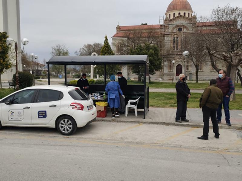Δελτίο ενημέρωσης θετικών κρουσμάτων σήμερα σε Τύρναβο και Αμπελώνα
