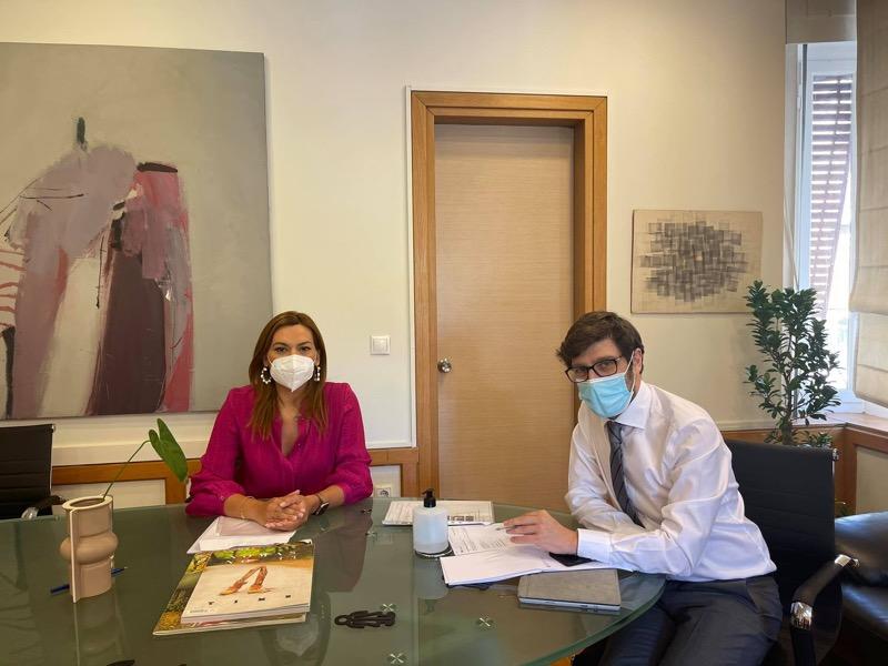 Στέλλα Μπίζιου – Συνάντηση εργασίας με Υφυπουργό Πολιτισμού
