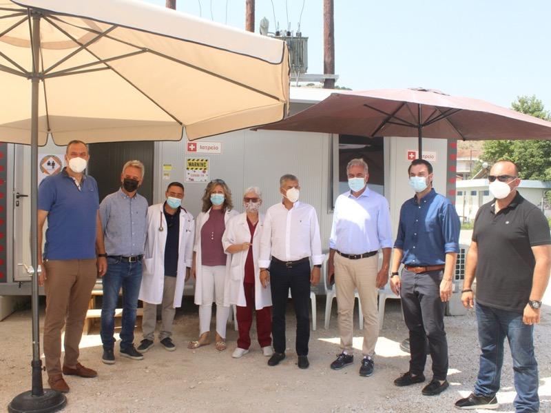 Στελεχώνεται με μόνιμο γιατρό το Περιφερειακό Ιατρείο δωρεάς Τσιλιλή  στο σεισμόπληκτο Δαμάσι