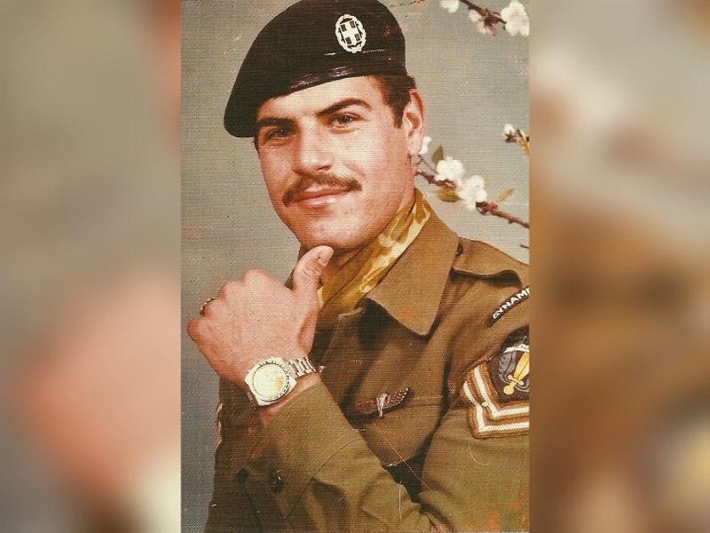 Καταδρομέας Μπικάκης: Μόνος του κατέστρεψε 5 Τουρκικά άρματα μάχης στη Κύπρο το 74