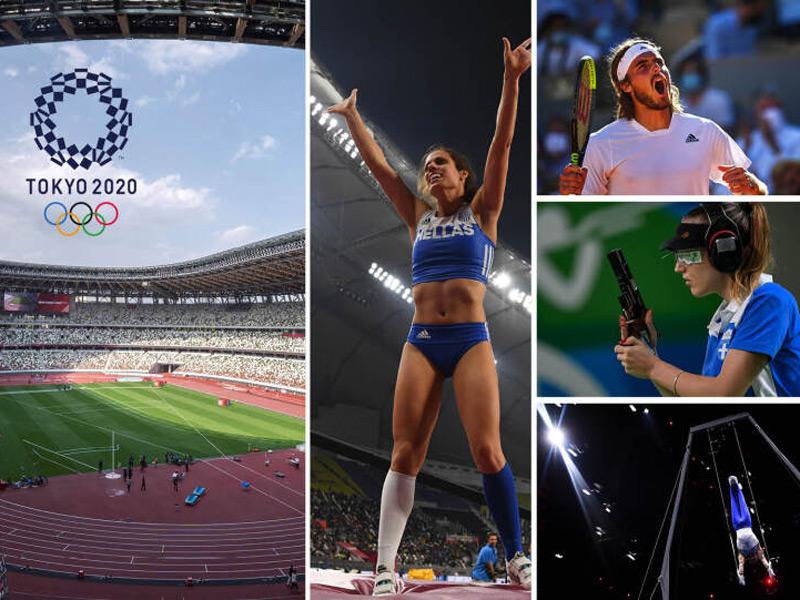 Οι ελληνικές συμμετοχές της 6ης ημέρας στους Ολυμπιακούς αγώνες του Τόκιο (28/7)