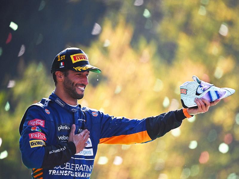 F1 Ιταλίας- Νικητής η McLaren