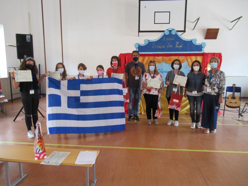 Επίσκεψη του 5ου Δ.Σ. Τυρνάβου στο Καστελβετράνο της Σικελίας με το πρόγραμμα Erasmus+