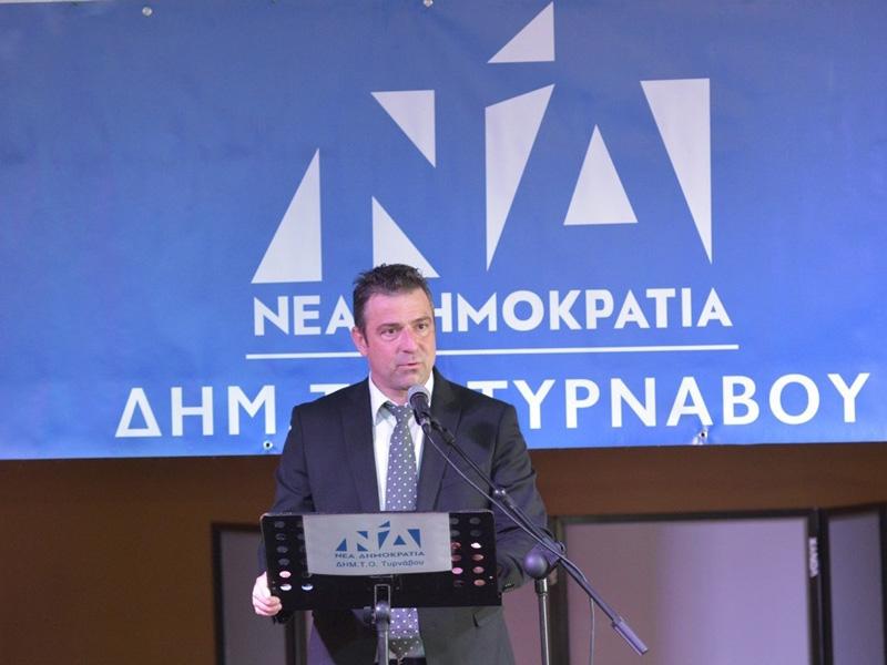 Ανδρέας Γιαννόπουλος: Έκλεισε για μένα ένας κύκλος ώς πρόεδρος της ΔΗΜΤΟ Τυρνάβου